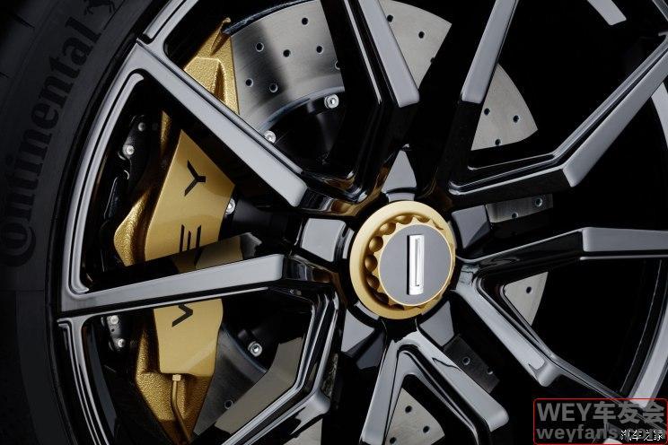 更加运动 WEY VV7定制版将亮相北京车展
